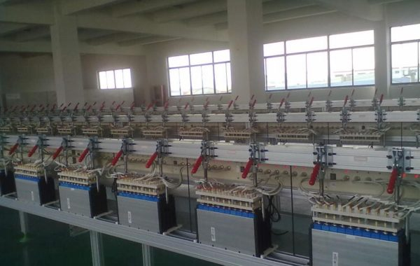 Large scale of Neware battery testers running at customer factory