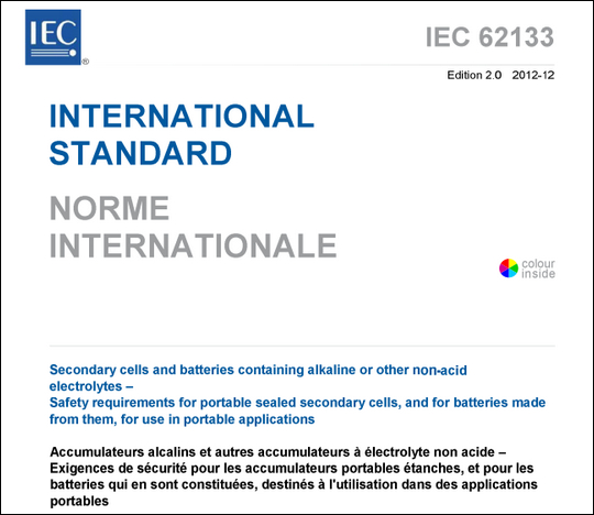 IEC-62133 and Neware battery testers