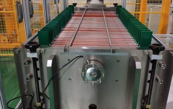 Automated test solution for pouch